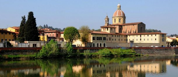 San Frediano seen by the river