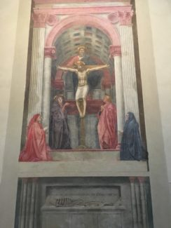the trinity by Masaccio