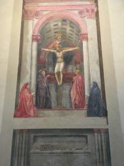 the trinity by Masaccio