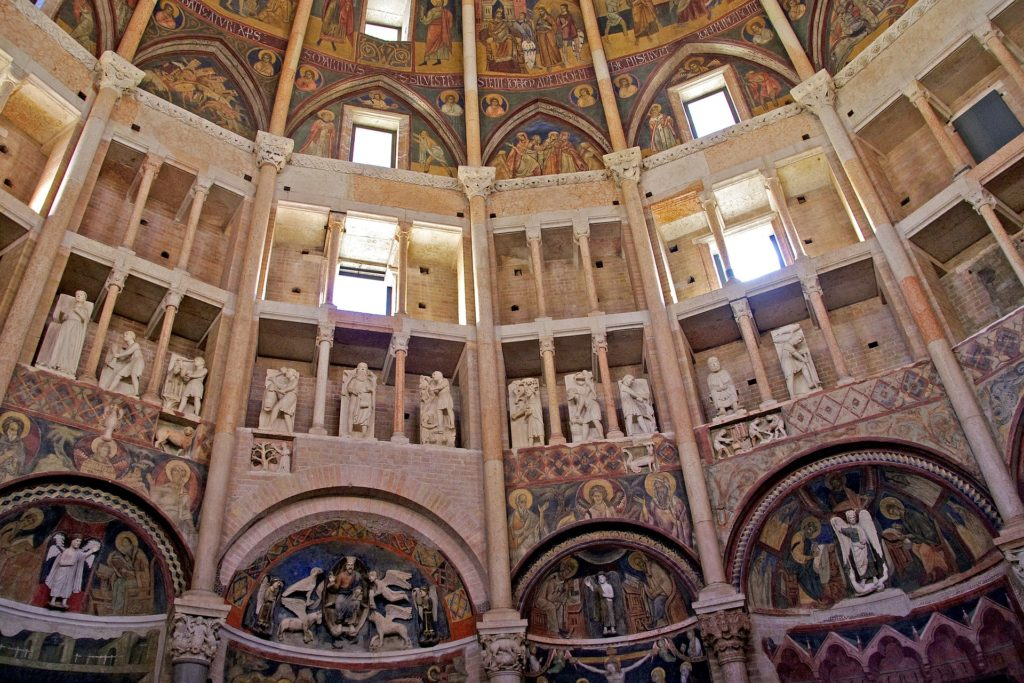 baptistery of Parma