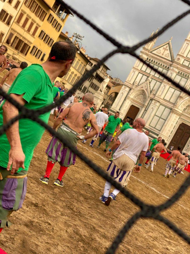 Calcio Storico Florence Italy