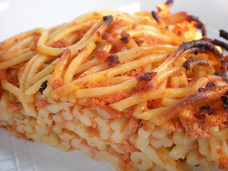 frittata spaghetti