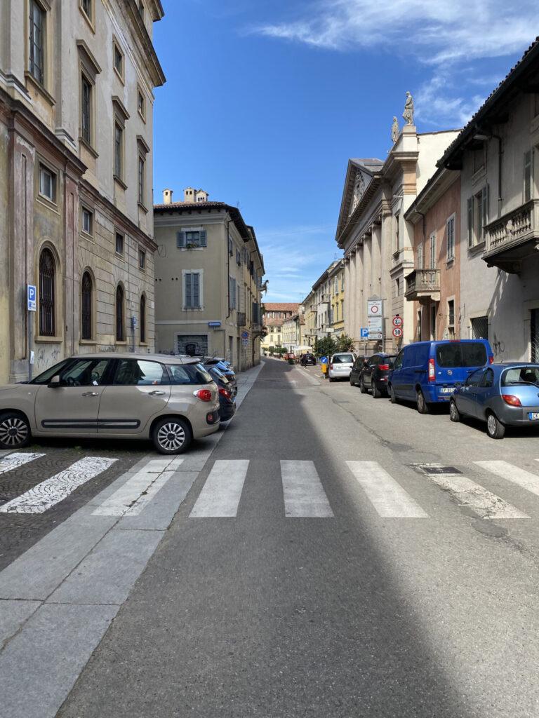 Via Cairoli Vigevano