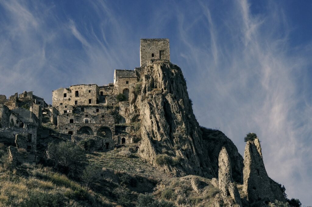 Ghost Town of Craco Basilicata