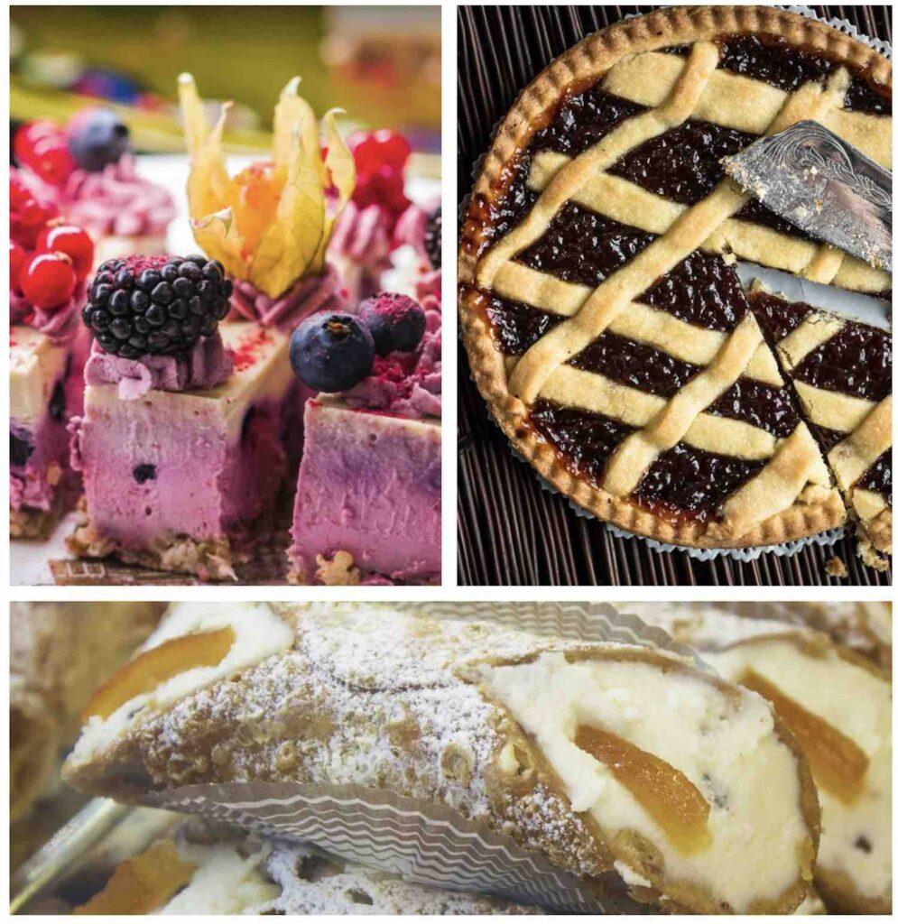 Italian dessert types