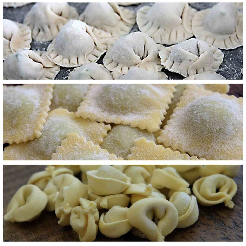 filled pasta types tortelli