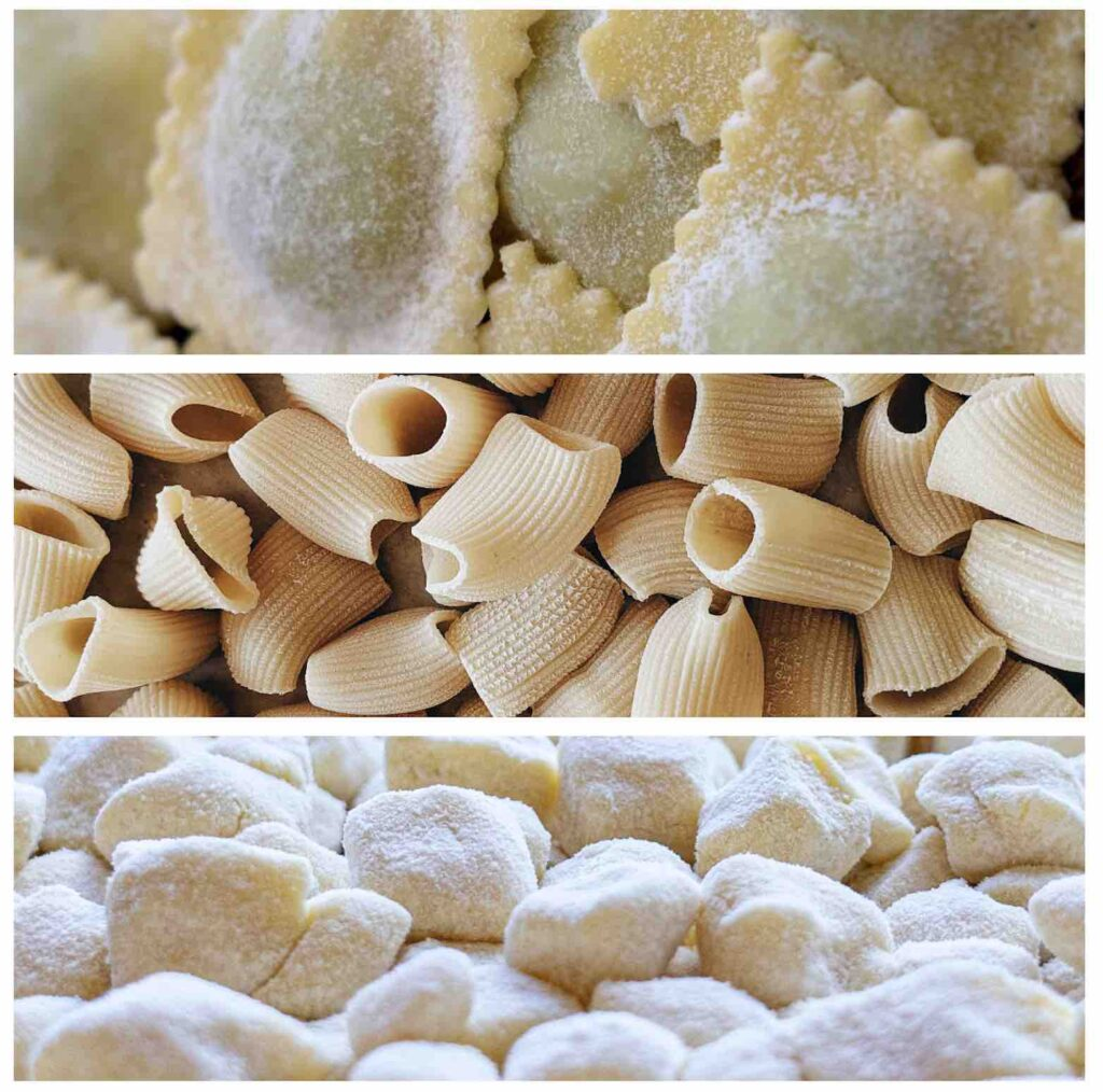 italian fresh pasta types
