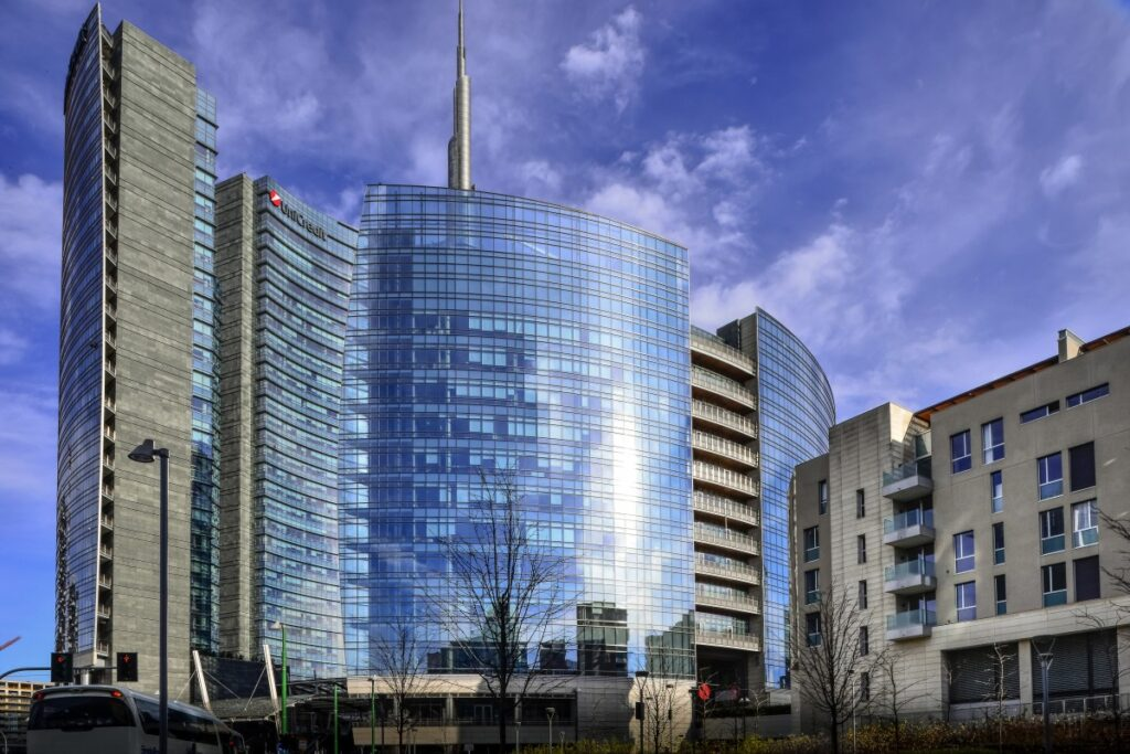 italy milan finance headquarter