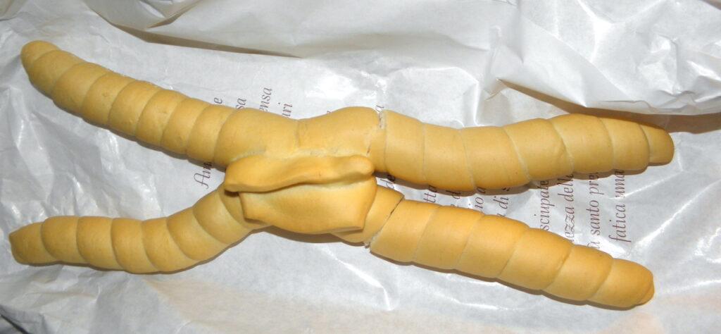 Italian types of bread coppia ferarrese